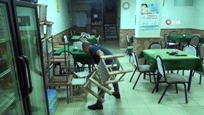 Açılma müjdesini alan kafe ve lokanta işletmecileri hazırlıklara başladı