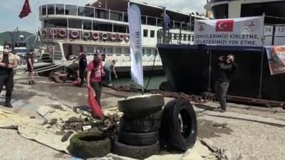 BARTIN - Karadeniz'in incisi' Amasra'da denizden çıkanlar görenleri şaşırttı