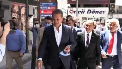 ZONGULDAK - TDP Genel Başkanı Mustafa Sarıgül, basın toplantısı düzenledi