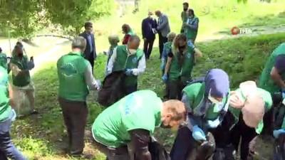 - Başkan Aktaş Dünya Çevre Gününde çöp topladı