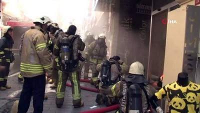 Otelde çıkan yangında can pazarı yaşandı