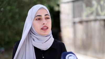 KUDÜS - Şeyh Cerrah Mahallesi'nde yaşananları dünyaya duyuran Filistinli Muna el-Kurd: 'İsrail bizi susturmak istiyor' (1)