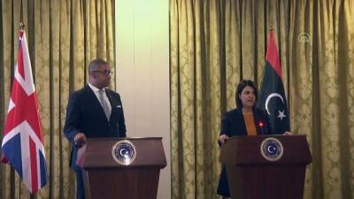 TRABLUS - İngiltere'nin Orta Doğu ve Kuzey Afrika'dan Sorumlu Devlet Bakanı James Cleverly, Libya'da