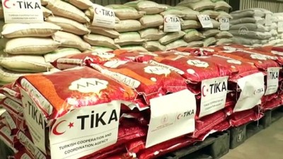 ADDİS ABABA - TİKA, Etiyopya'nın Tigray bölgesine 10 ton insani yardım malzemesi gönderdi