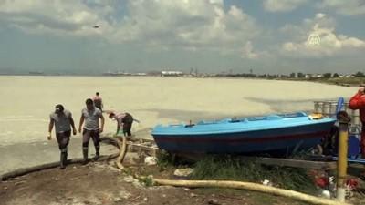 YALOVA - Müsilaj temizlik çalışması devam ediyor