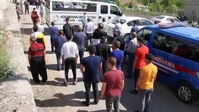 KAYSERİ - Tandırda gömülü bulunan iki kişi son yolculuğuna uğurlandı