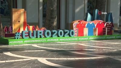 Azerbaycan'da EURO 2020 coşkusu