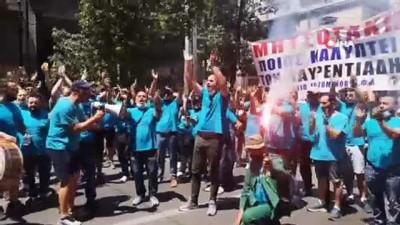 - Yunanistan'da yeni çalışma yasasına karşı genel grev - Sendikalar: 'Perşembe günkü genel grev sadece başlangıç'