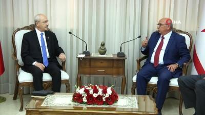 - CHP lideri Kılıçdaroğlu, KKTC meclisindeki partilerin liderleri ile görüştü