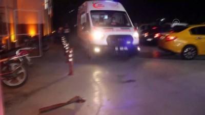 ADANA - Silahlı saldırıya uğrayan kişi yaralandı