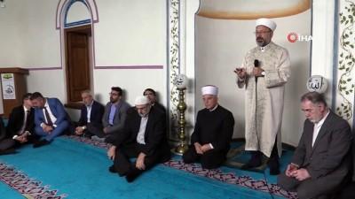 - Diyanet İşleri Başkanı Erbaş Ohri'de