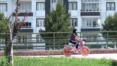 TOKAT - Turhal'da bisiklet yolu uzunluğu 32 kilometreye çıkartılacak