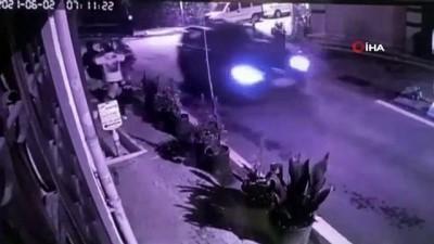 Kağıthane'deki hırsızların 'Burada mobese var' diyerek birbirlerini uyardıkları anlar ortaya çıktı