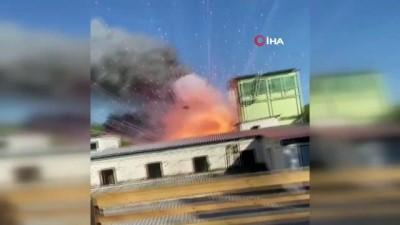- Rusya'da havai fişek deposundaki yangın helikopterlerle söndürüldü