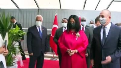 ANKARA - Çavuşoğlu, Gine Bissau'nun Büyükelçilik binasının açılış törenine katıldı (2)