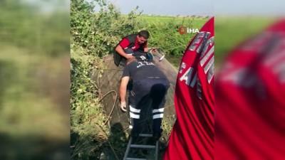 Baba ile oğlu kazada yaralandı