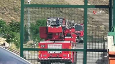 - Geri Gönderme Merkezindeki yangında 1 sığınmacı hayatını kaybetti