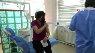 Kars'ta hedef nüfusun yüzde 45'i Covid-19 aşısı oldu