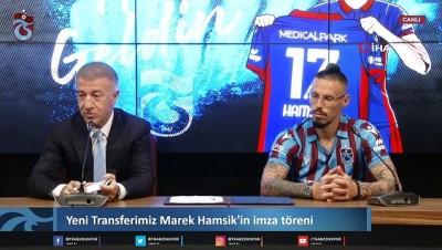 Trabzonspor'da Marek Hamsik imzayı attı -2-