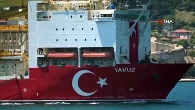 - Yavuz sondaj gemisi Çanakkale Boğazı'ndan geçti