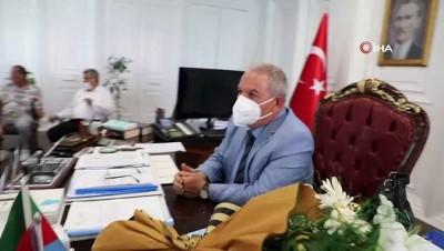 Başkan Demirtaş'tan amatör spor kulüplerine destek