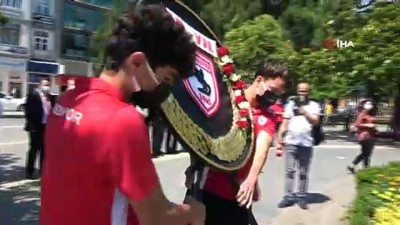 Samsunspor'un 56. kuruluş yıldönümü kutlamaları başladı