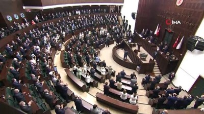 Cumhurbaşkanı Erdoğan, AK Parti grup toplantısında konuştu