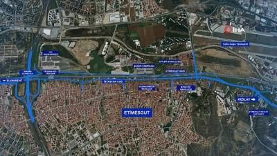 - 1,5 Milyon Ankaralının sorununa neşter: Etimesgut İstasyon Caddesi'nde çalışmalar hızla ilerliyor