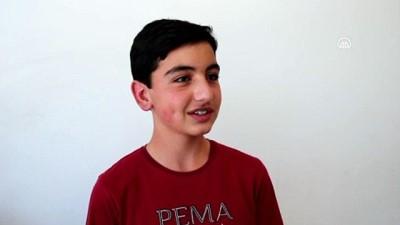 Konyalı Mehmet'i mutluluktan havalara uçuran LGS başarısı