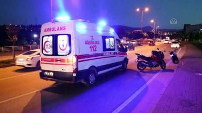 KARABÜK - Otomobil ile motosiklet çarpıştı: 1 ölü, 1 yaralı