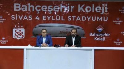 SİVAS - Bahçeşehir Koleji, Yeni 4 Eylül Stadyumu'na isim sponsoru oldu