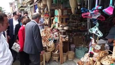 RİZE - Memleket Partisi Genel Başkanı İnce, sel ve heyelanların yaşandığı Rize ile Artvin'i ziyaret etti