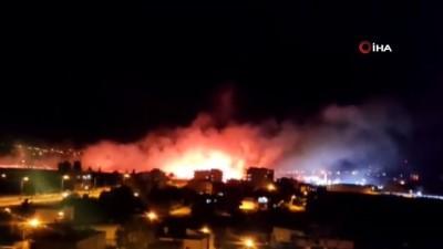 Birçok noktada çıkan anız yangınlarında 11 kişi hastanelik oldu