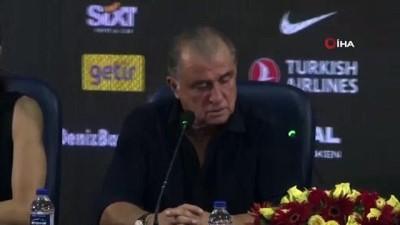 - Fatih Terim: 'İki maç sonunda hak eden turu geçti'