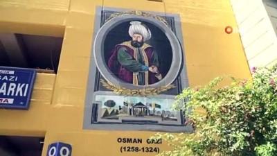 Osmangazi sanatla renklendi