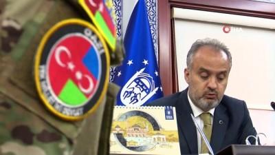 Kardeş ülke Azerbaycan'dan gelen itfaiyeciler ülkelerine dönüyor