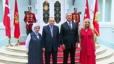 - Cumhurbaşkanı Erdoğan, Karadağlı mevkidaşı Djukanovic ile görüştü