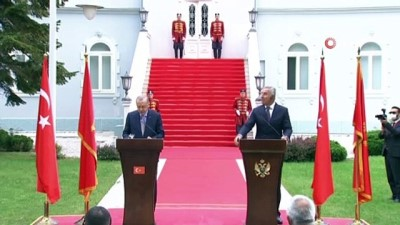 - Cumhurbaşkanı Erdoğan, Karadağlı mevkidaşı Djukanovic ile ortak basın toplantısı düzenledi