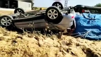 Lüks araçlar trafiğe çıkmadan hurdaya döndü