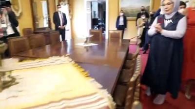 - Emine Erdoğan, Kral Nikola Müzesi'ni ziyaret etti