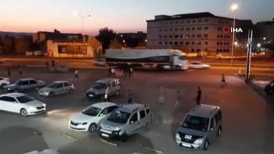 Gaziantep'te silahlı, sopalı kavga cep telefonu kamerasında
