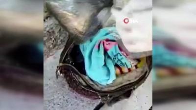Elazığ'da el çantası içerisinde 2 kilo 150 gram esrar ele geçirildi