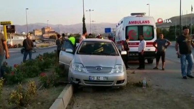 - Elazığ'da 5 kişinin yaralandığı kaza güvenlik kamerasında