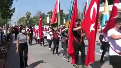 30 Ağustos Zafer Bayramı'nda komandolar caddeleri inletti
