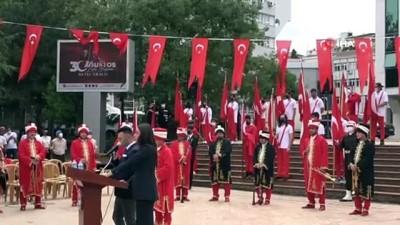 Trabzon'da 30 Ağustos Zafer Bayramı'nın 99. yıldönümü töreni